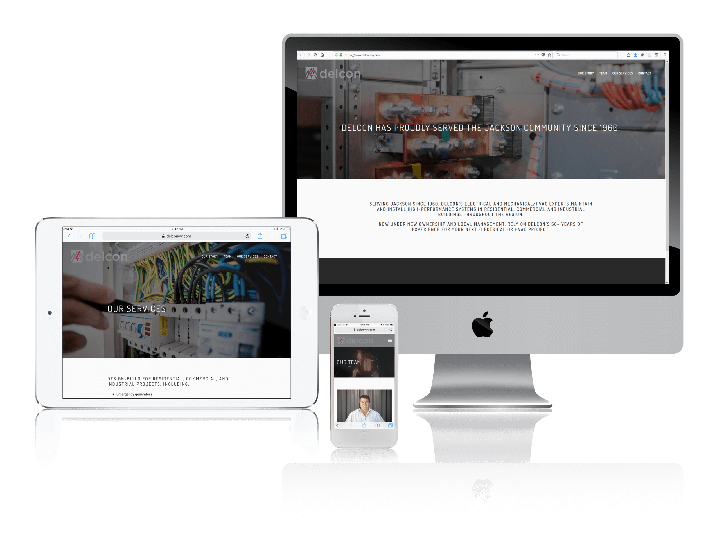 Squarespace for Electrical and Mechanical Service Provider Websites