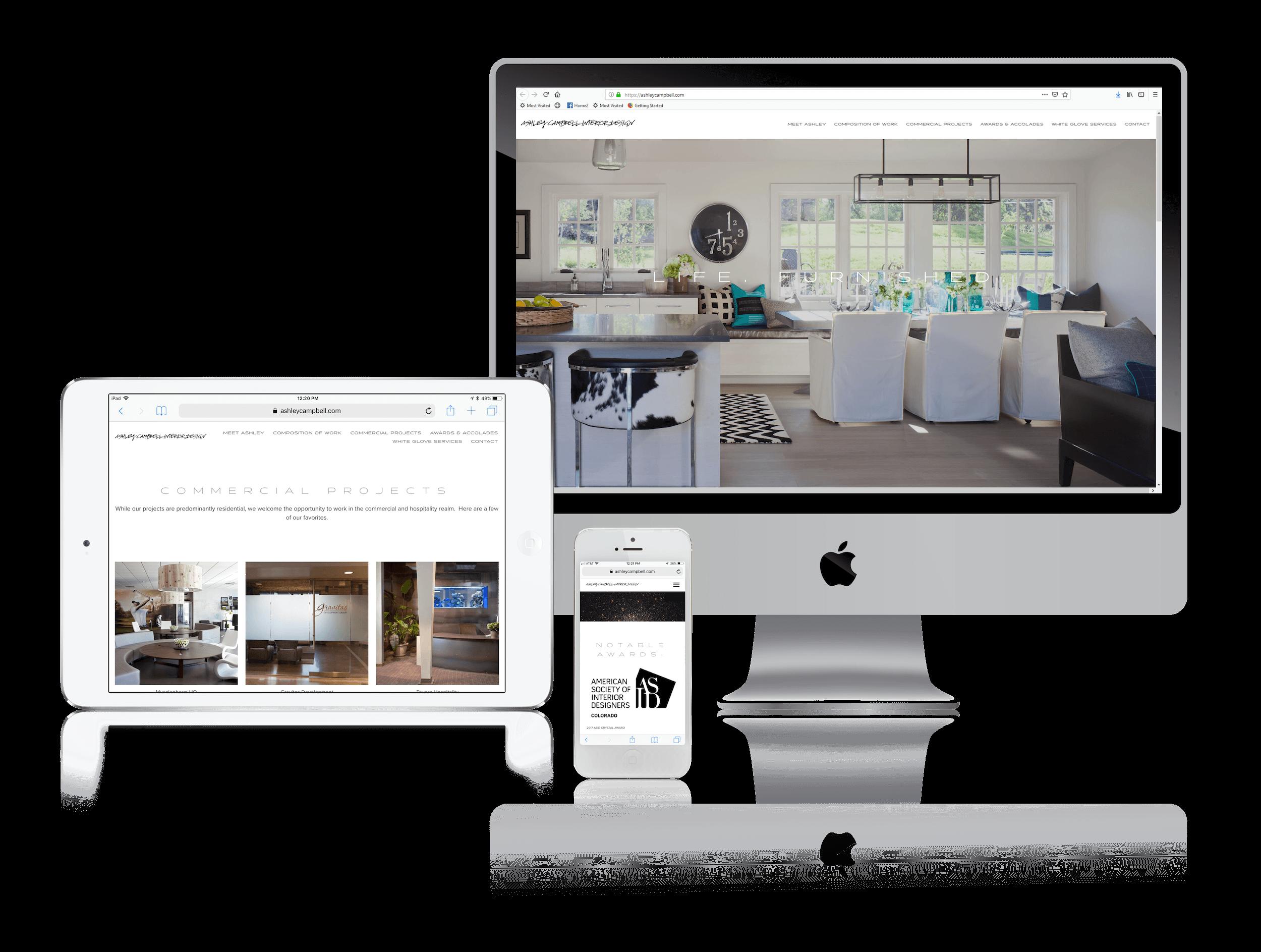 Squarespace for Interior Design Websites