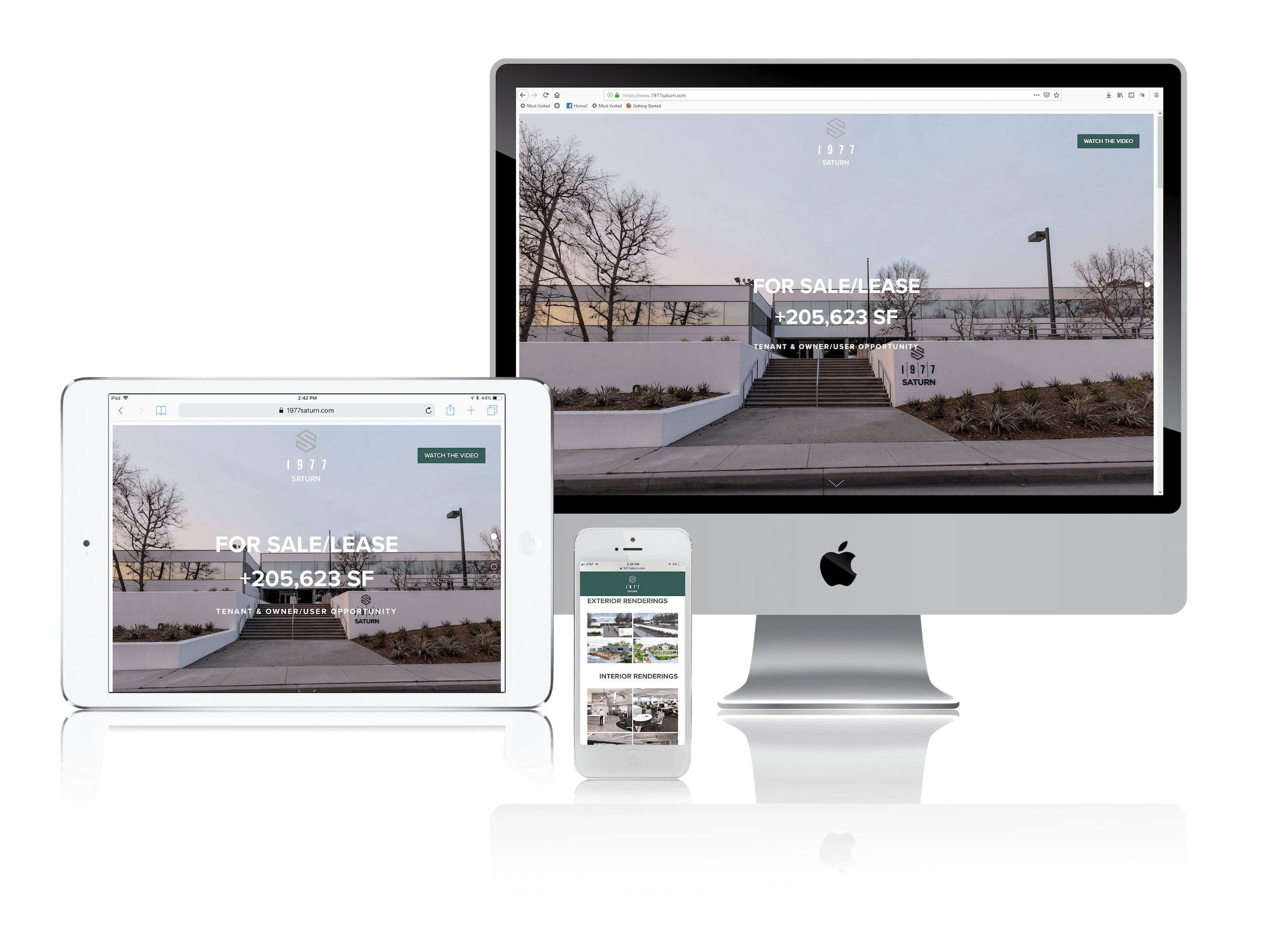 Squarespace for Leasing Commercial Real Estate