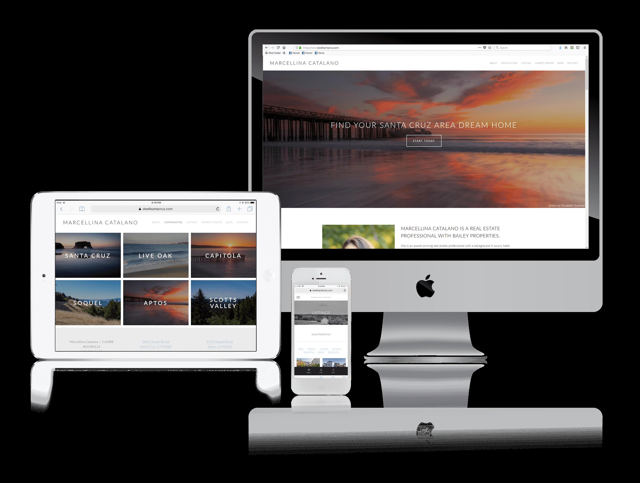 Squarespace for California Realtor Websites