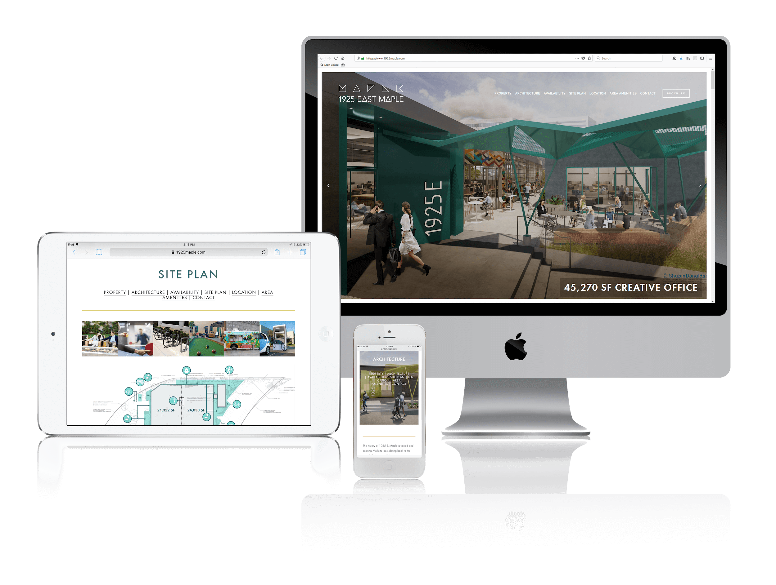 Squarespace for Commercial Real Estate Websites