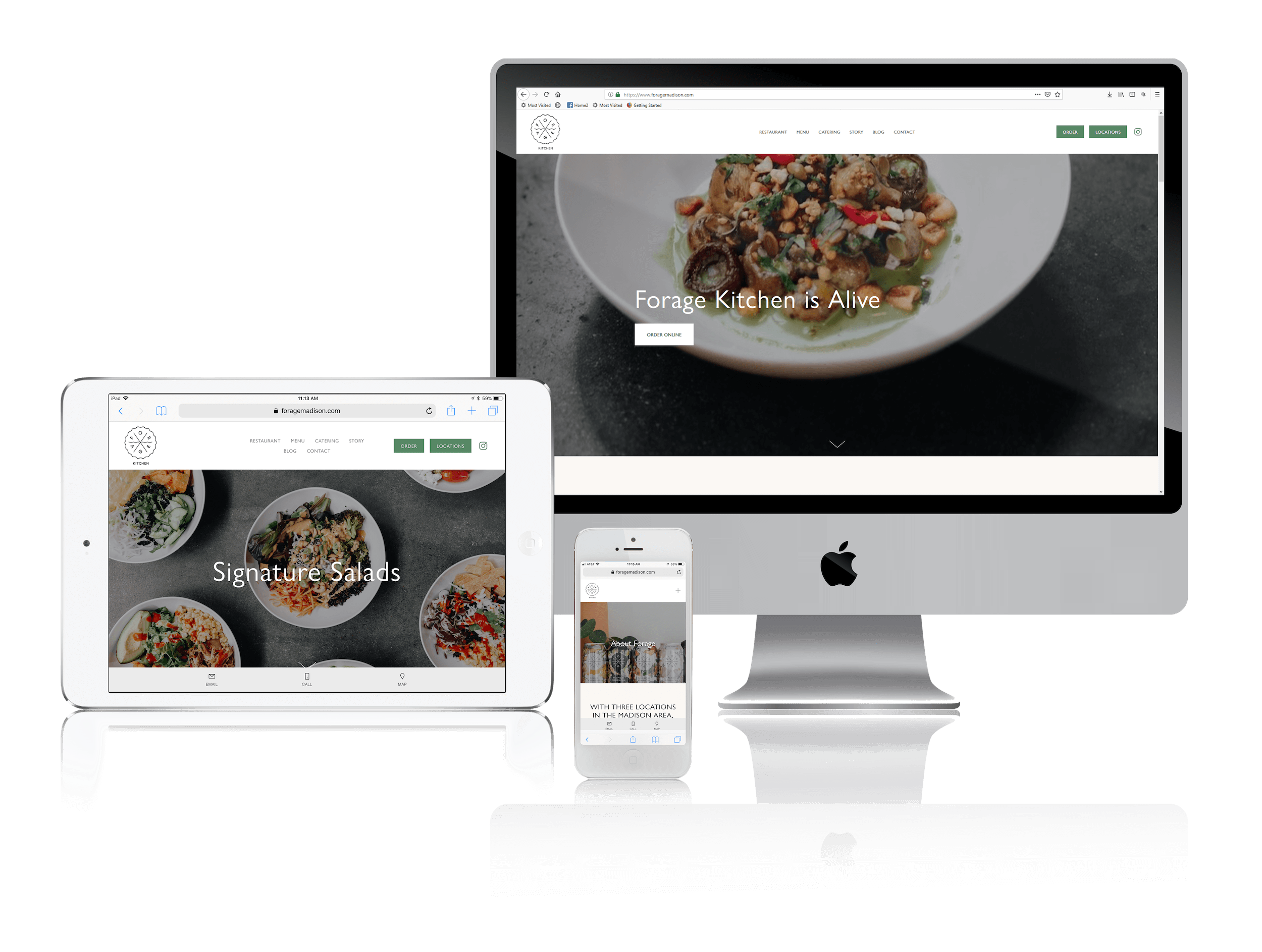 Squarespace for Health-Conscious Restaurants
