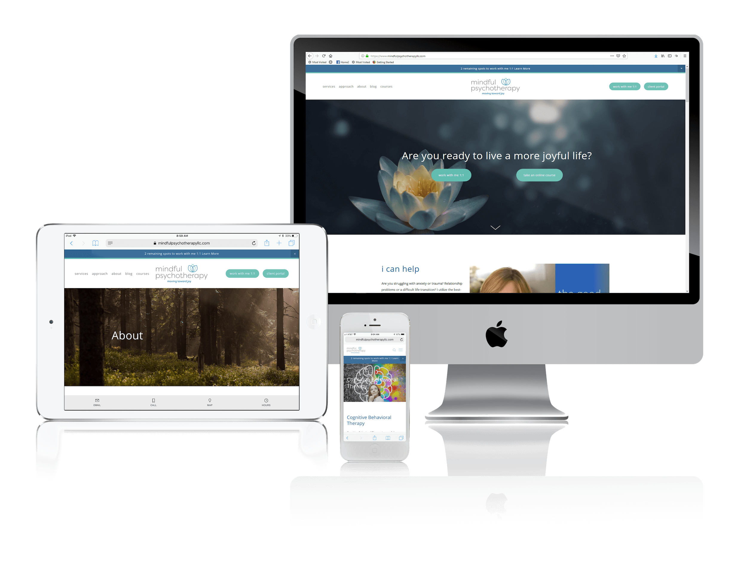 Squarespace for Mindfulness and Therapy Websites
