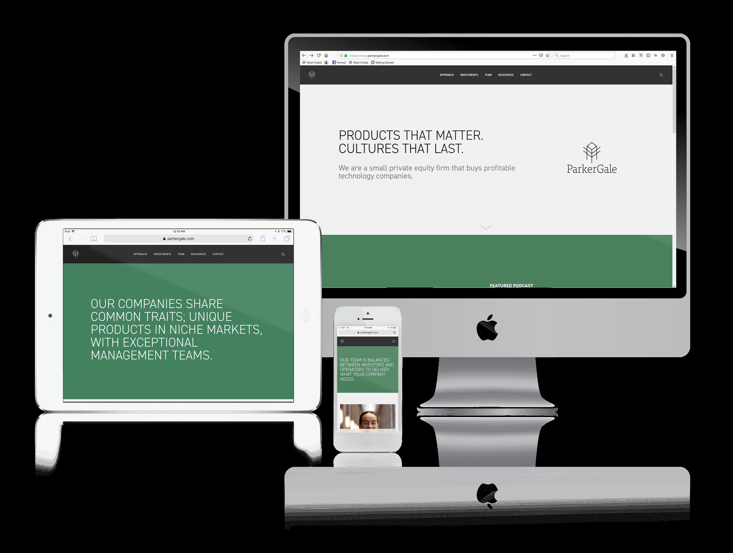 Squarespace Websites for Investors
