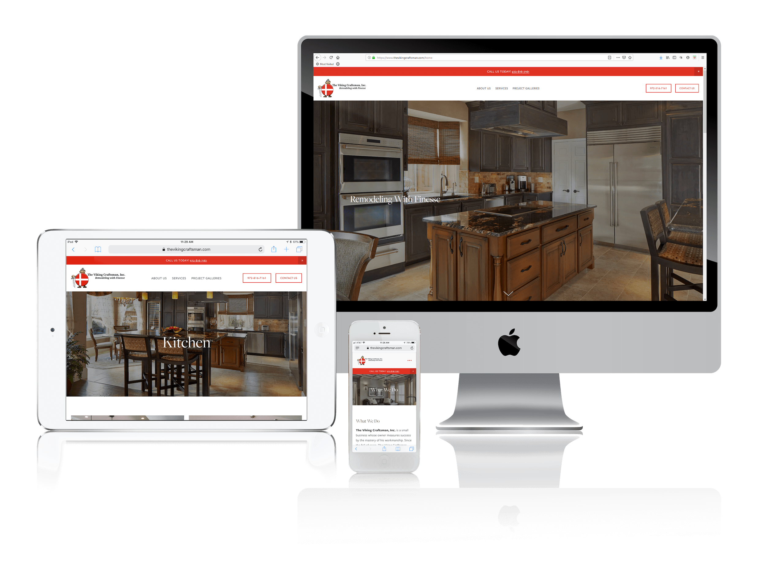Squarespace for High-End Home Remodelers