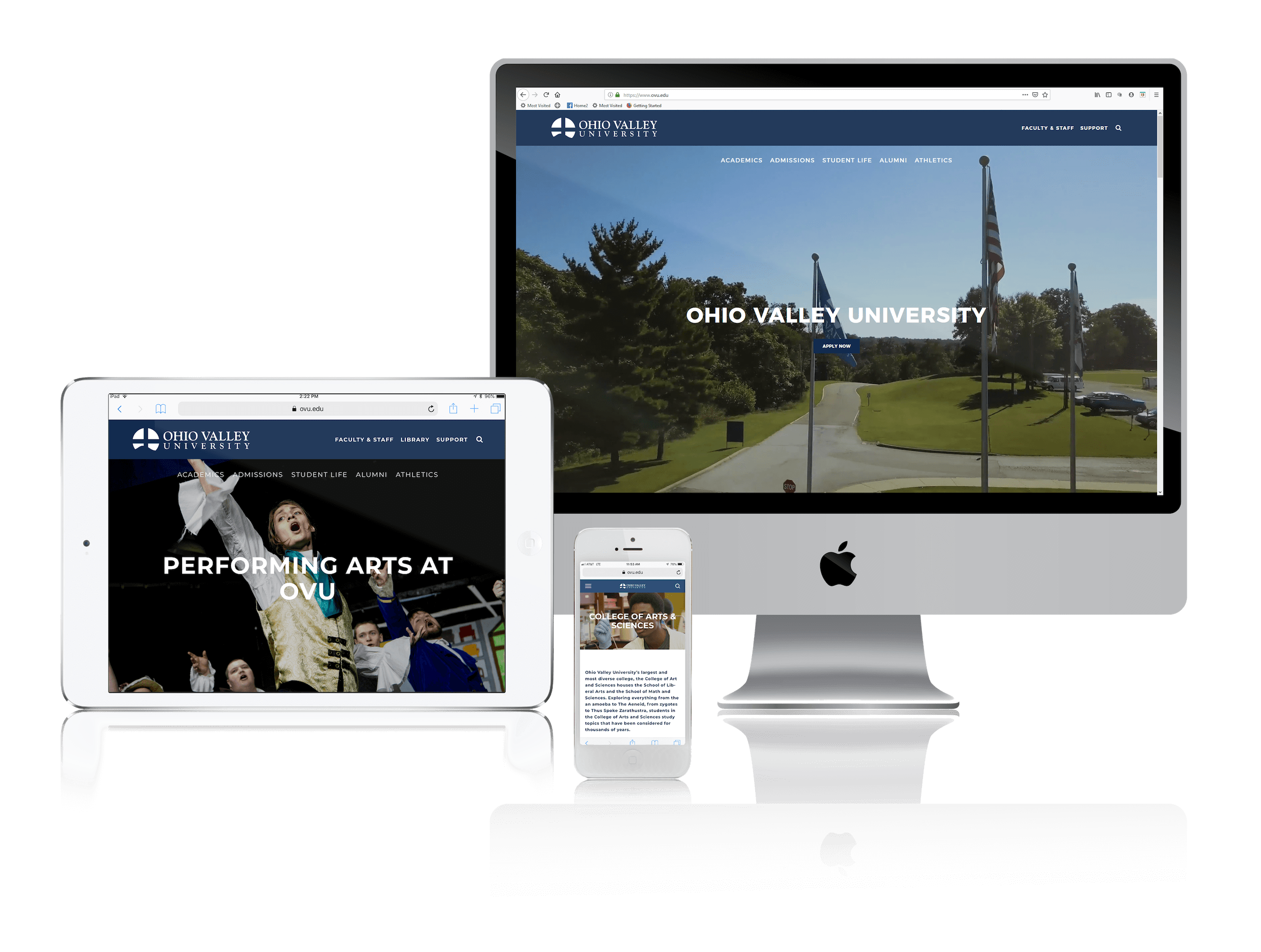 Squarespace for University Websites
