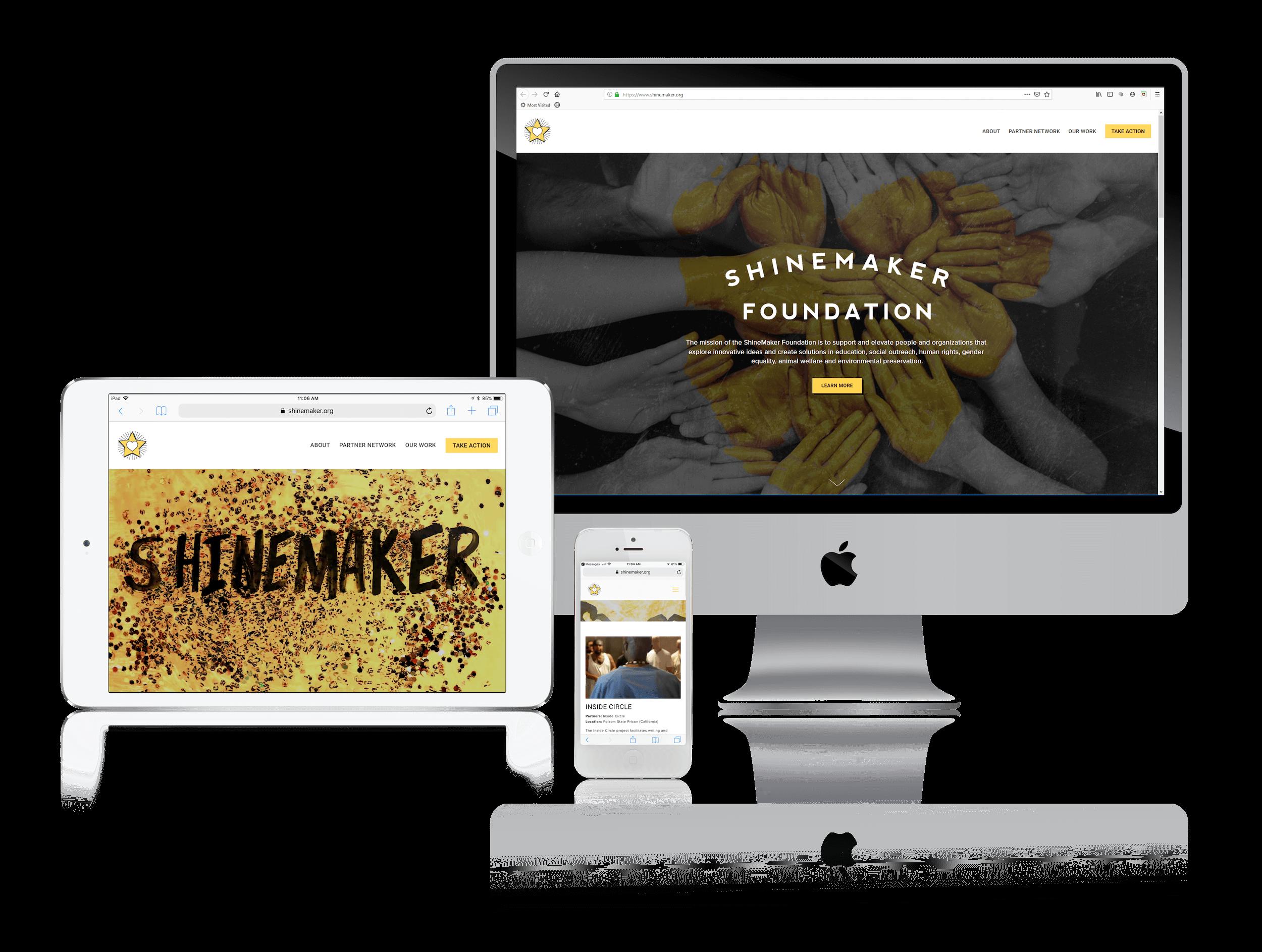 Squarespace Websites for Nonprofits Effecting Social Change