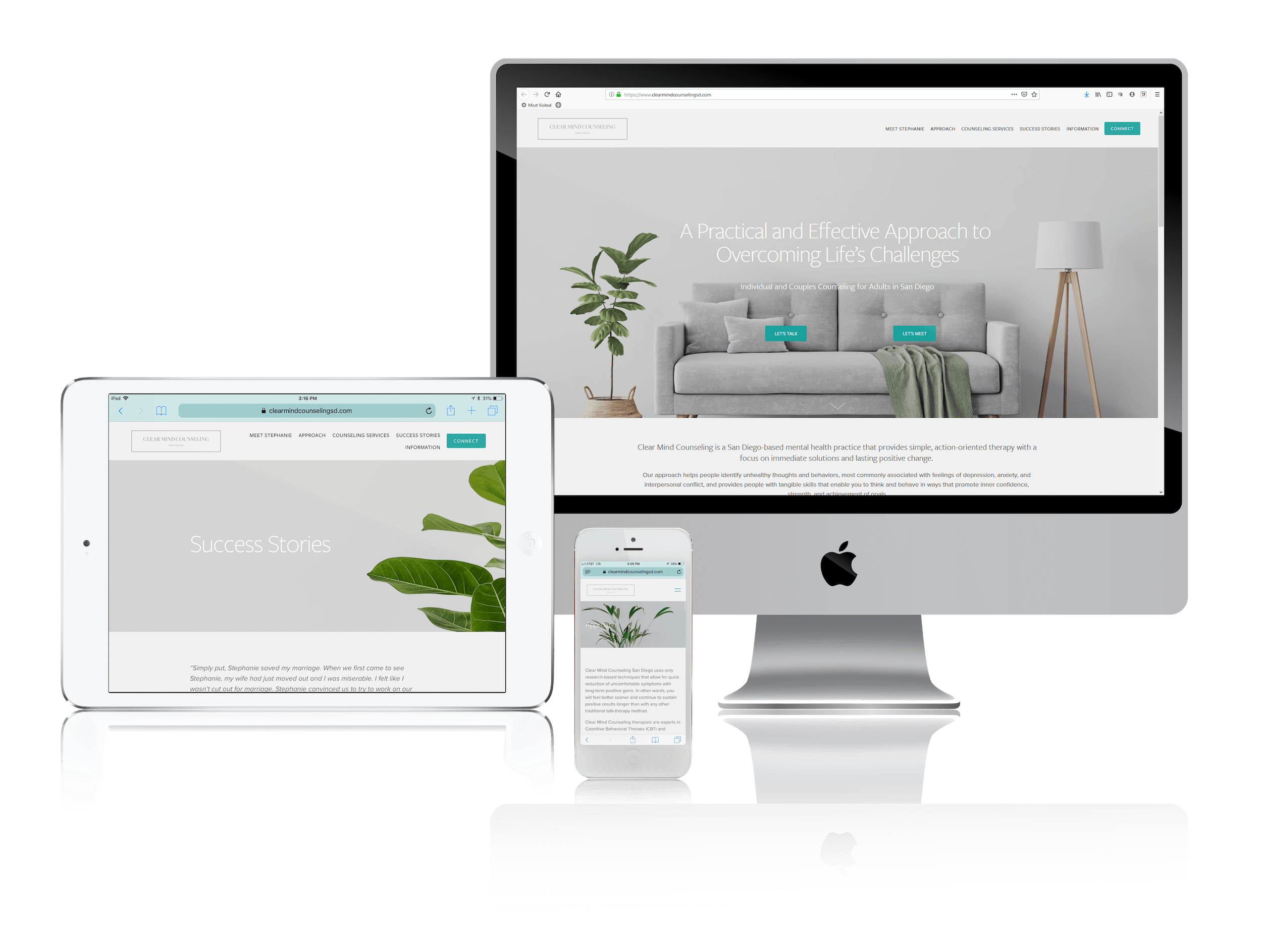 Squarespace Websites for Individual and Couples Counseling