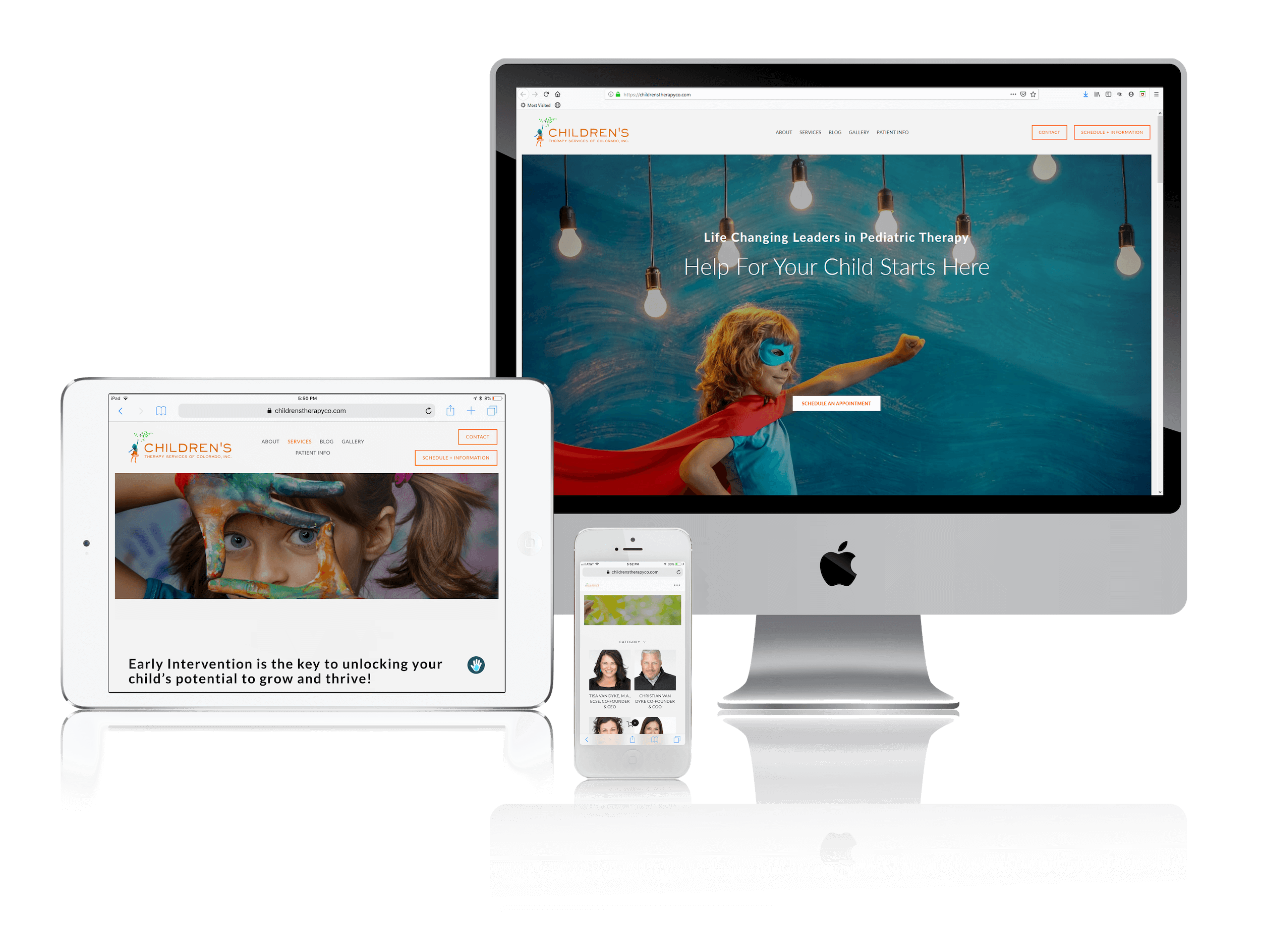 Squarespace Websites for Therapists Who Work with Children