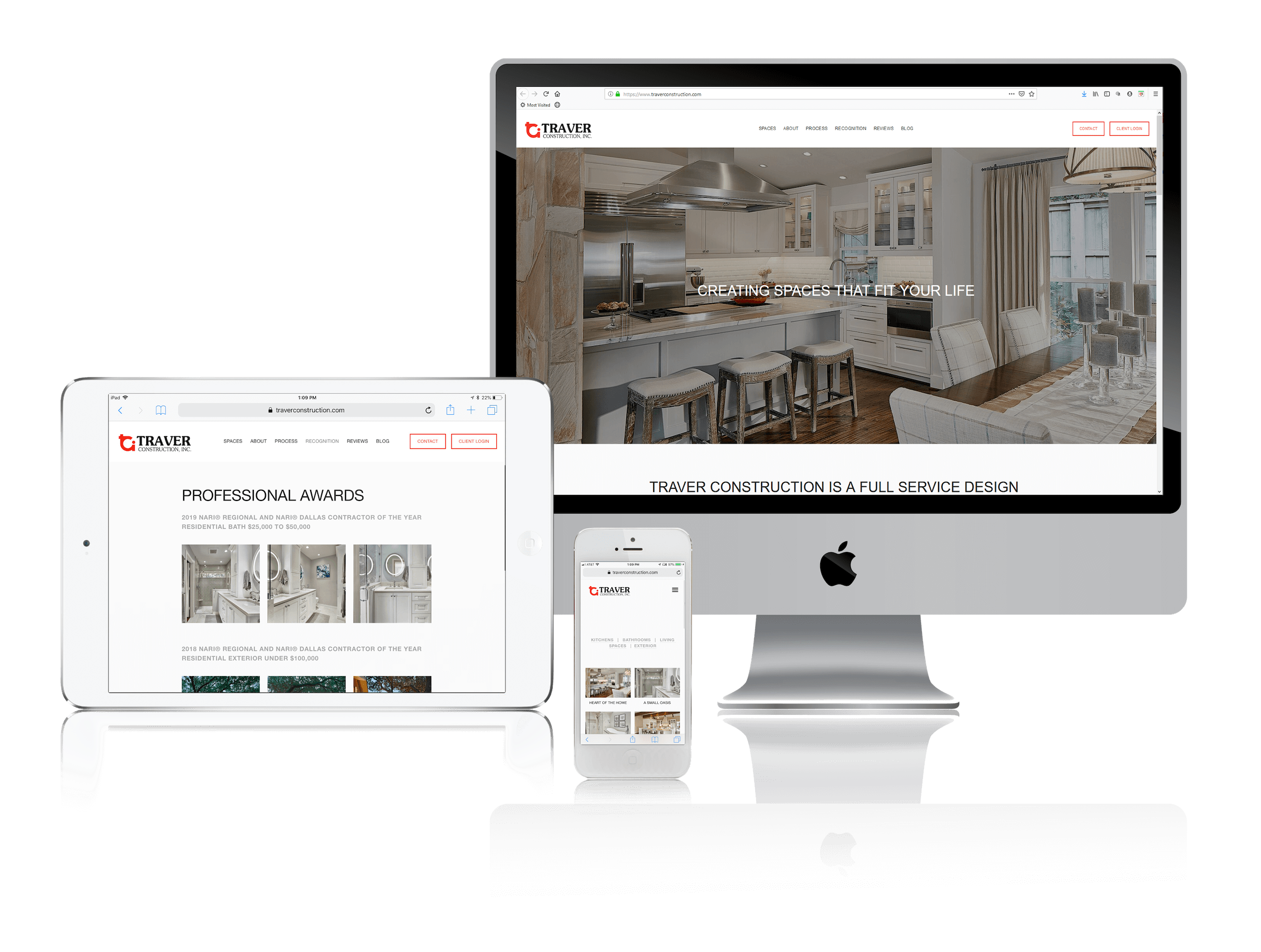 Squarespace Websites for Design Build Firms