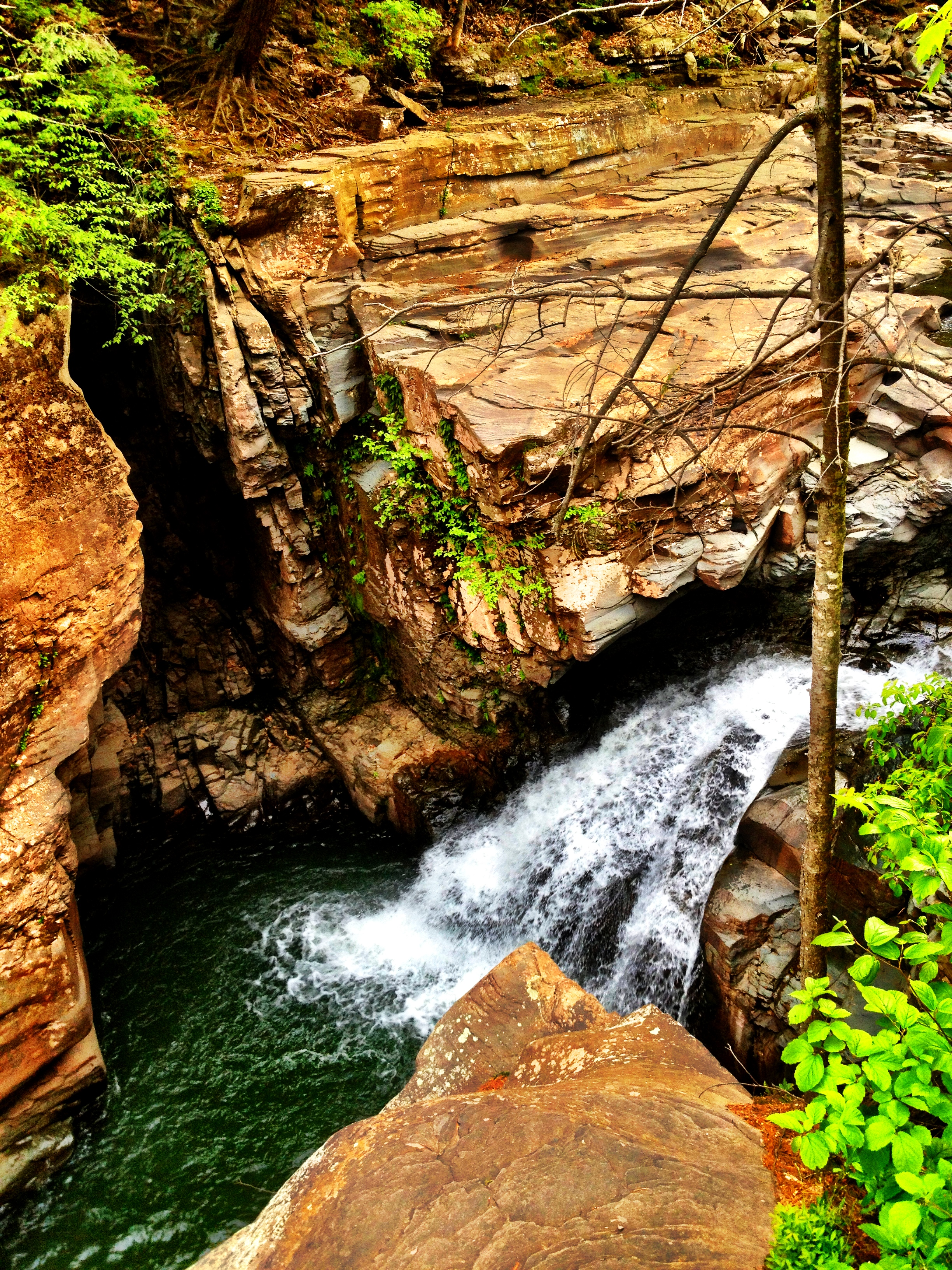 Fawns Leap. I can't wait to come back when it's hot!