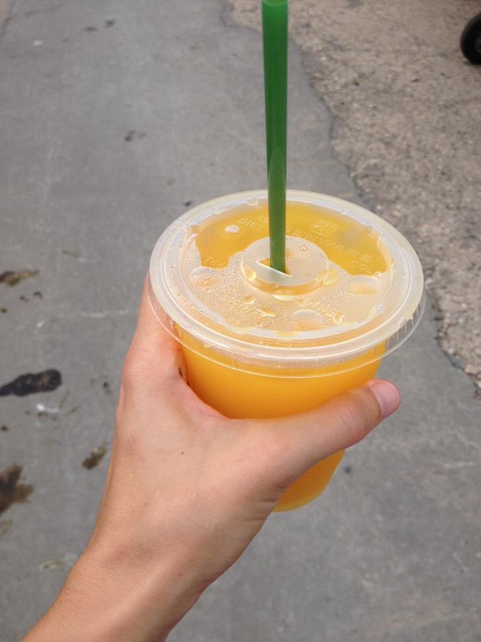 Mango Lemonade at Smorgasburg
