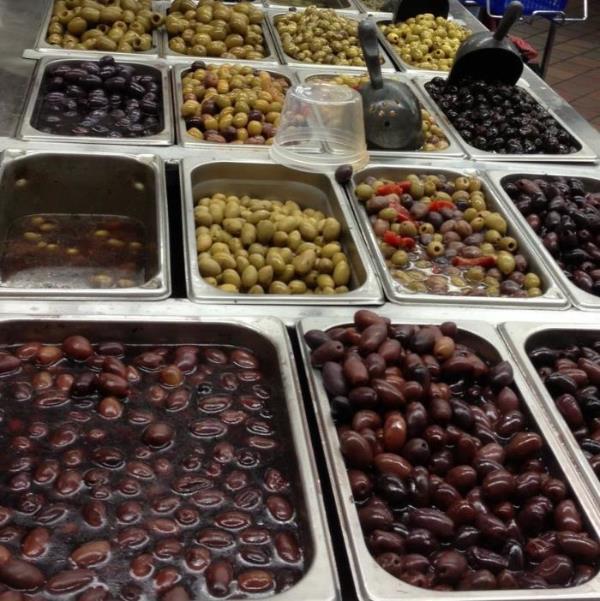 mmm olives.