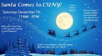 Santa Comes to CUNY