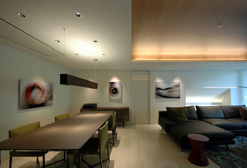 Art by Juliet Ferguson Room by  Kagami Architects , art consultation by  Subject Matter