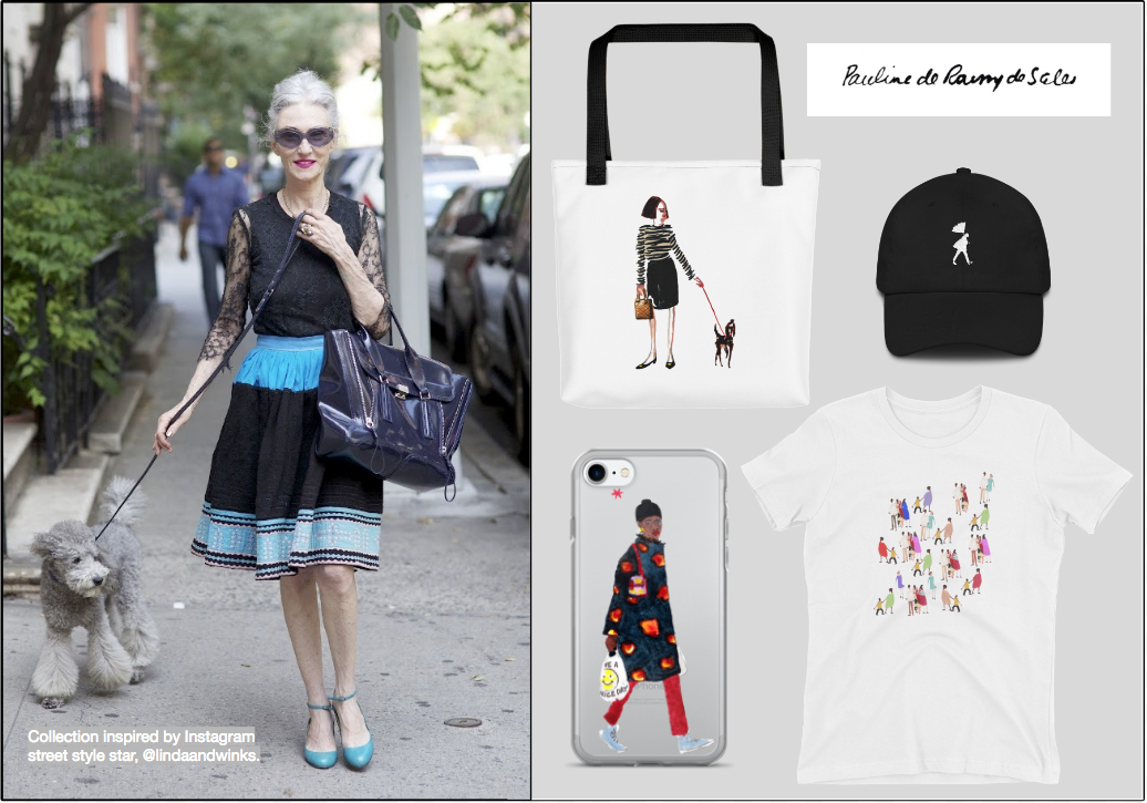 Collection inspired by Instagram street style star @lindaandwinks