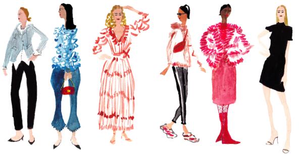 Illustrations by Pauline de Roussy de Sales