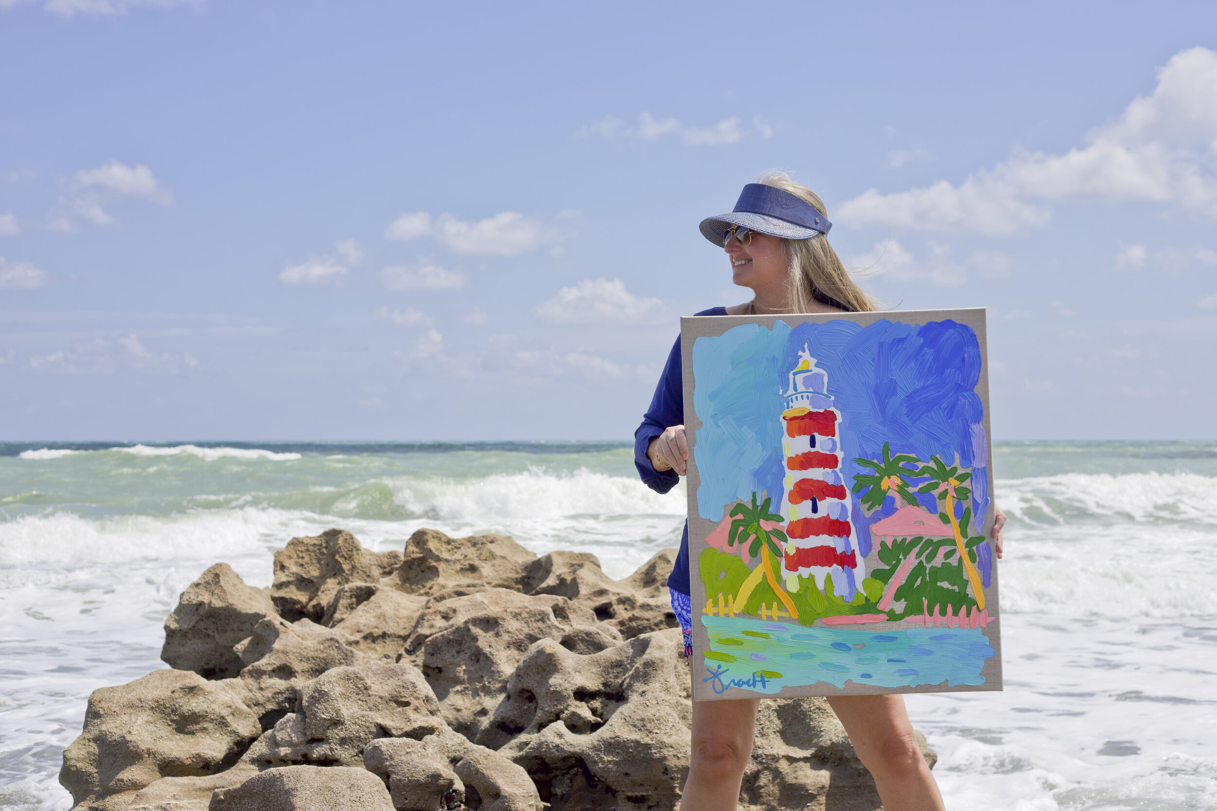 "SOLD ""Elbow Reef Lighthouse"" ALL PROCEEDS DONATED"