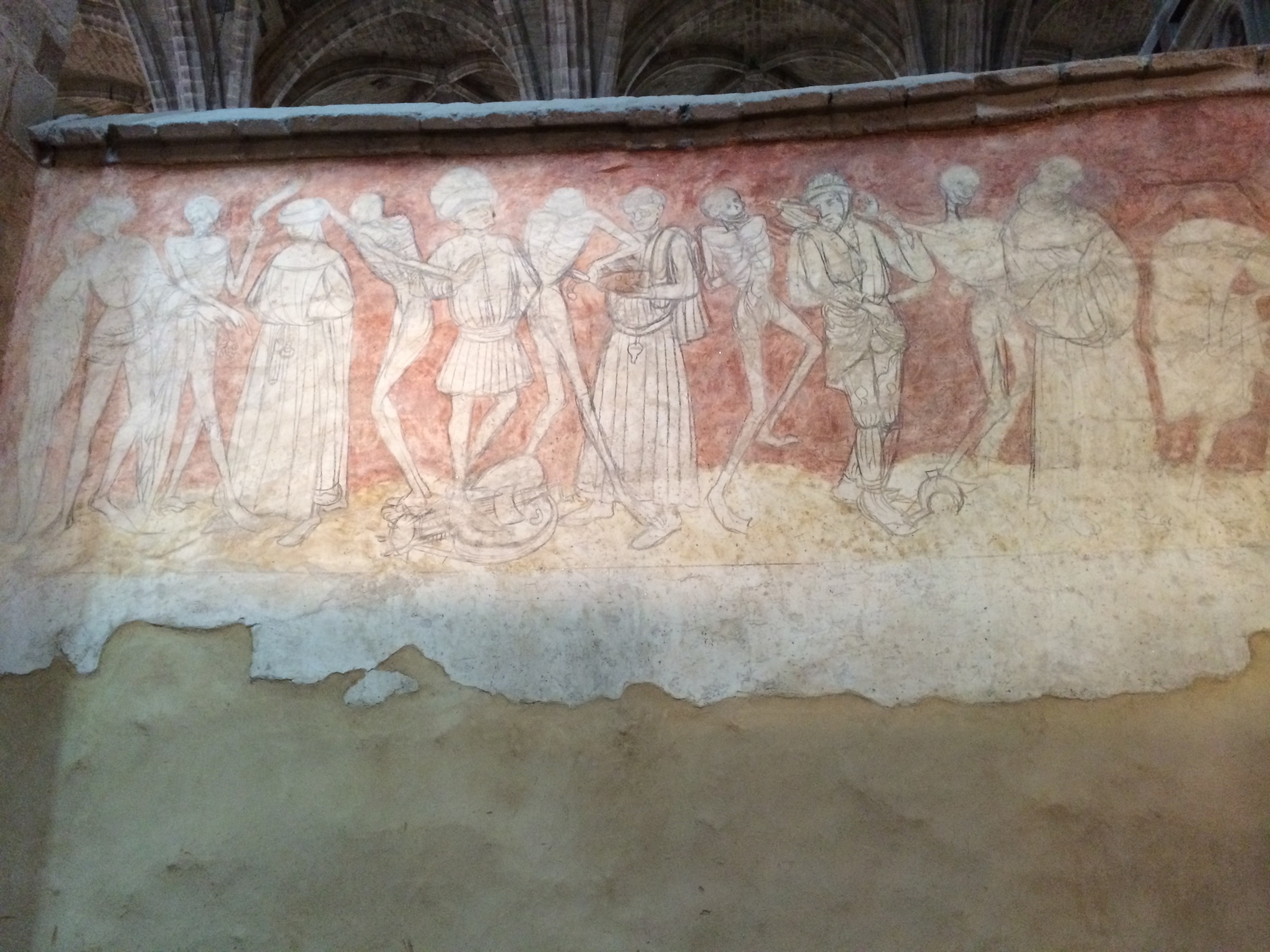 """This is one of the """"panels"""" of the Dance of Death"""