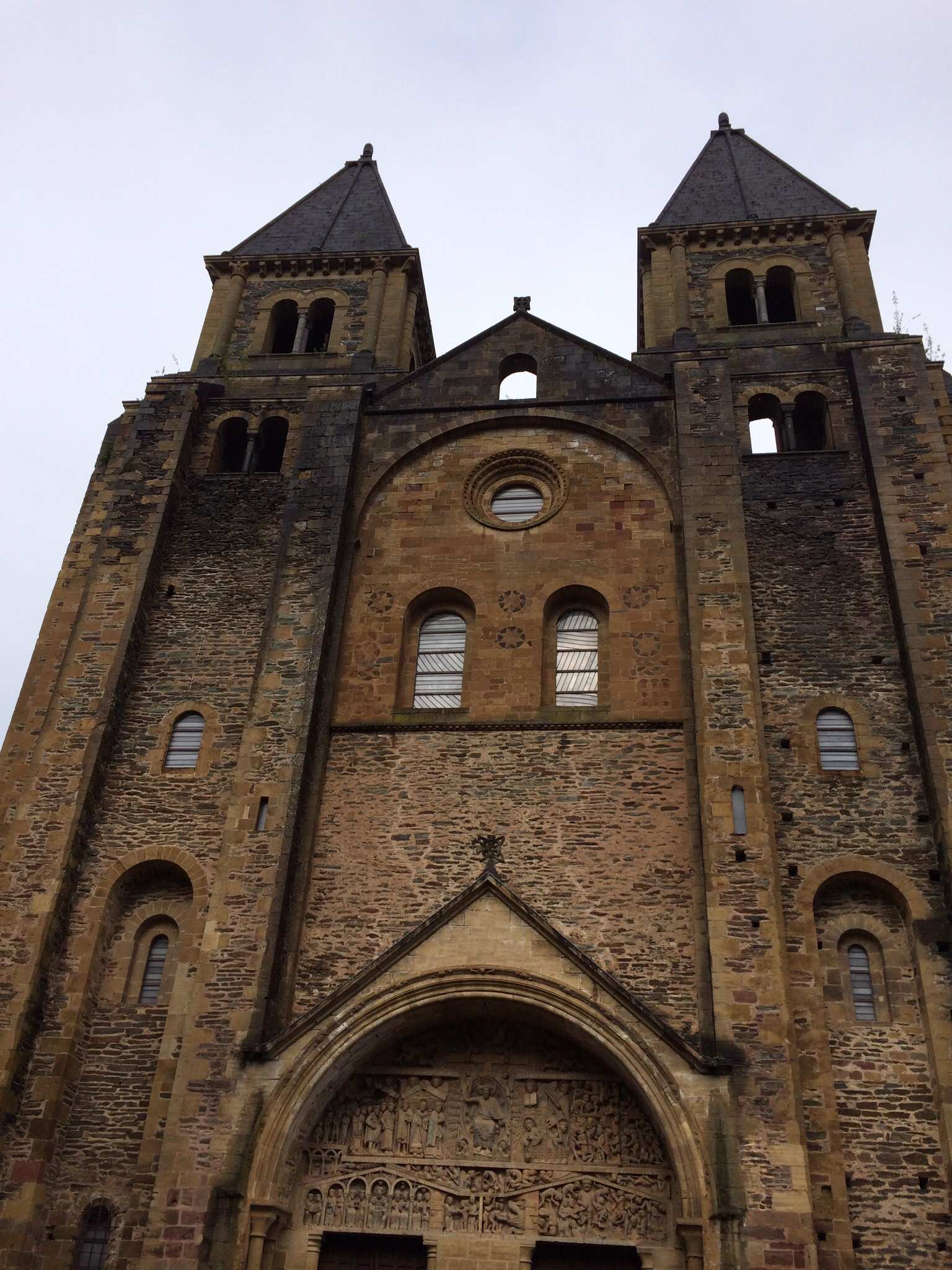 This is the Eglise de Perse where pilgrims have stopped for centuries.