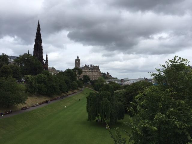 Last Day in Edinburgh