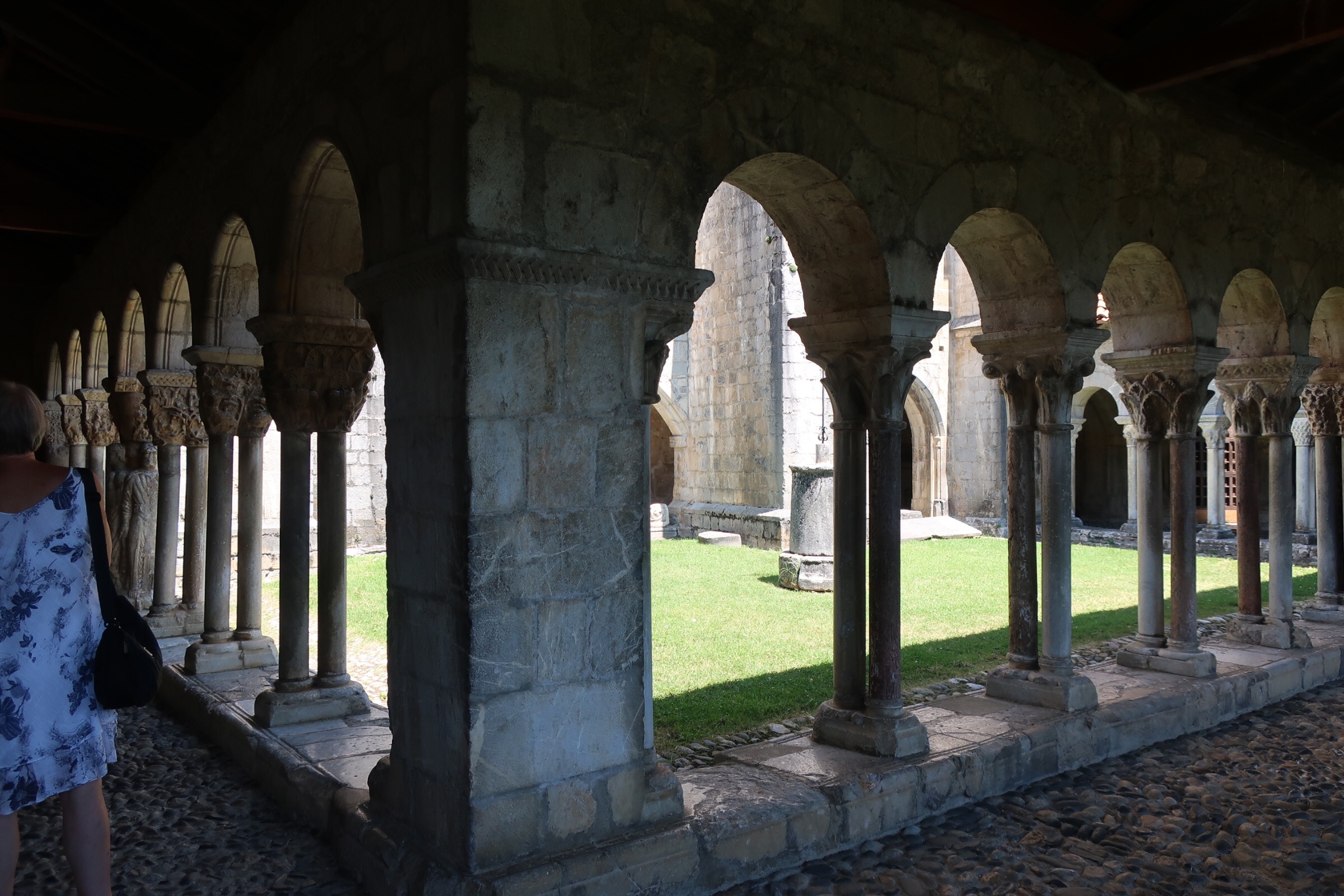 Cloisters at L'Abbaye Norte-Dame-de-Tourney