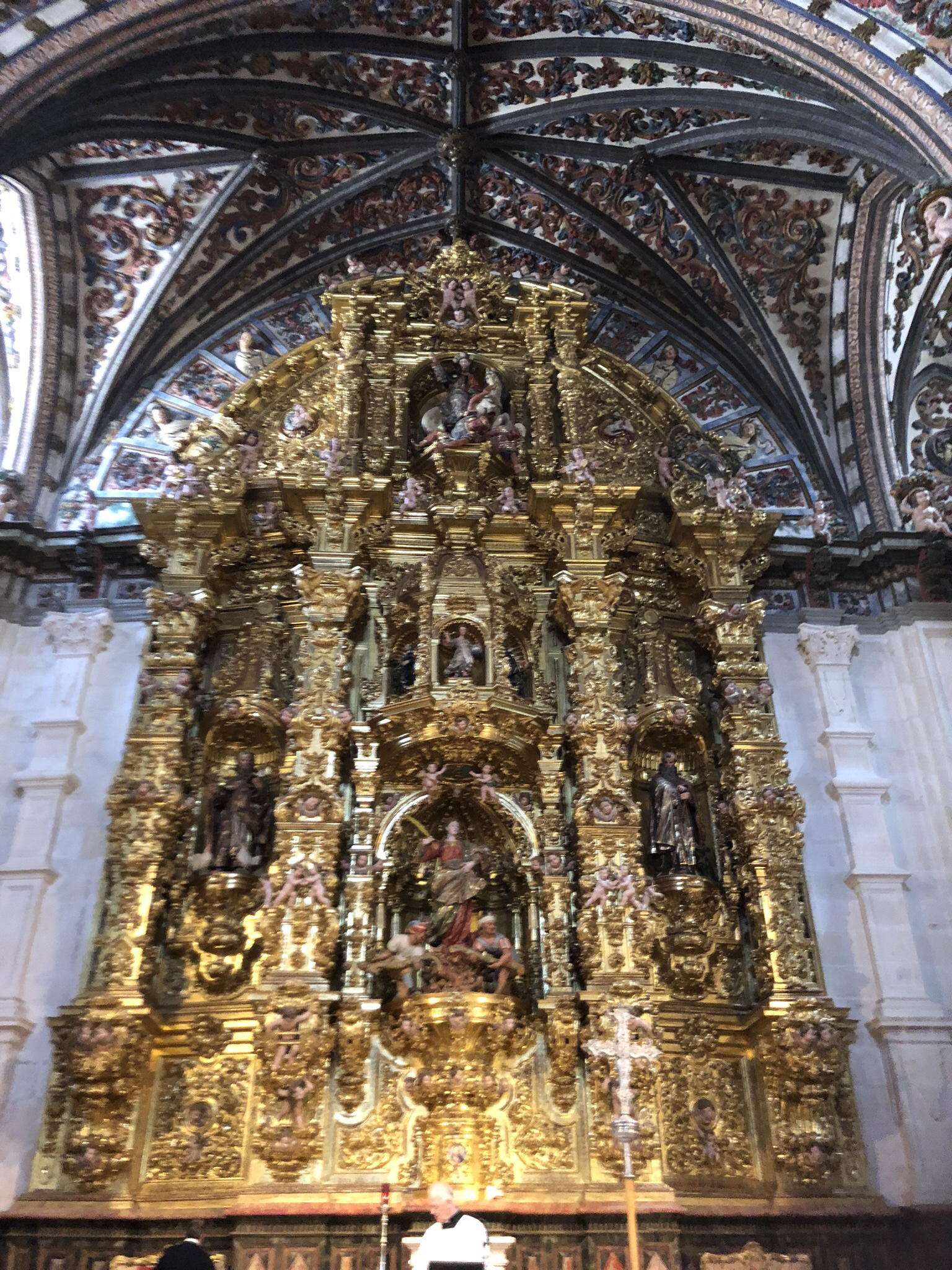 Altarpiece in the Cathedral in Burgos