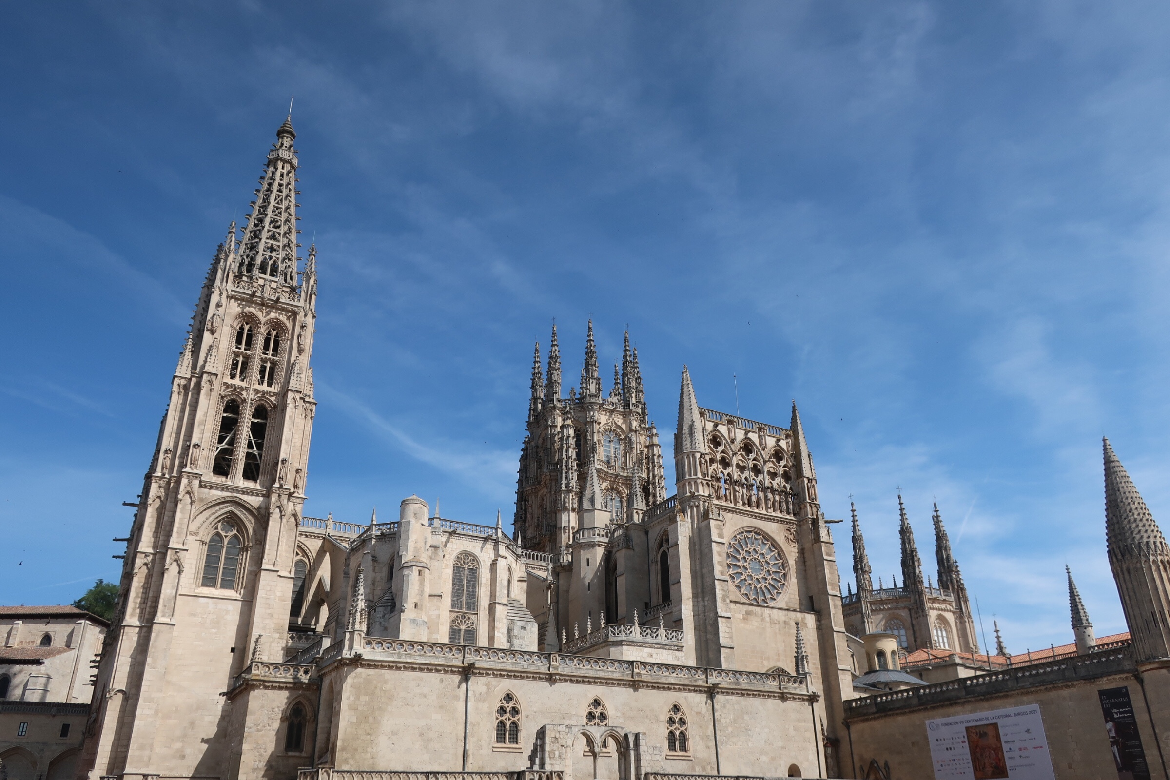 The Cathedral in Burgos