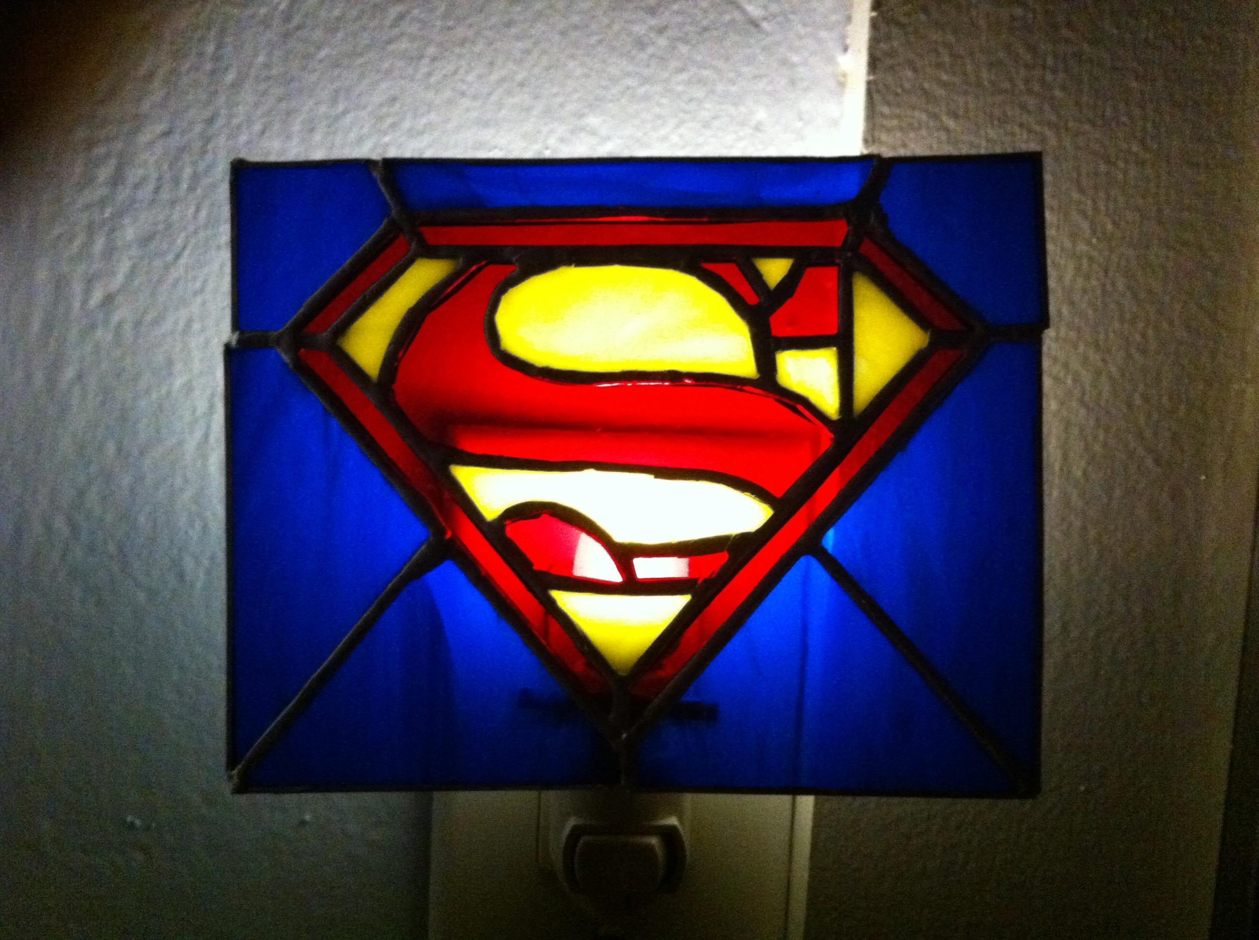 Superman Night Light