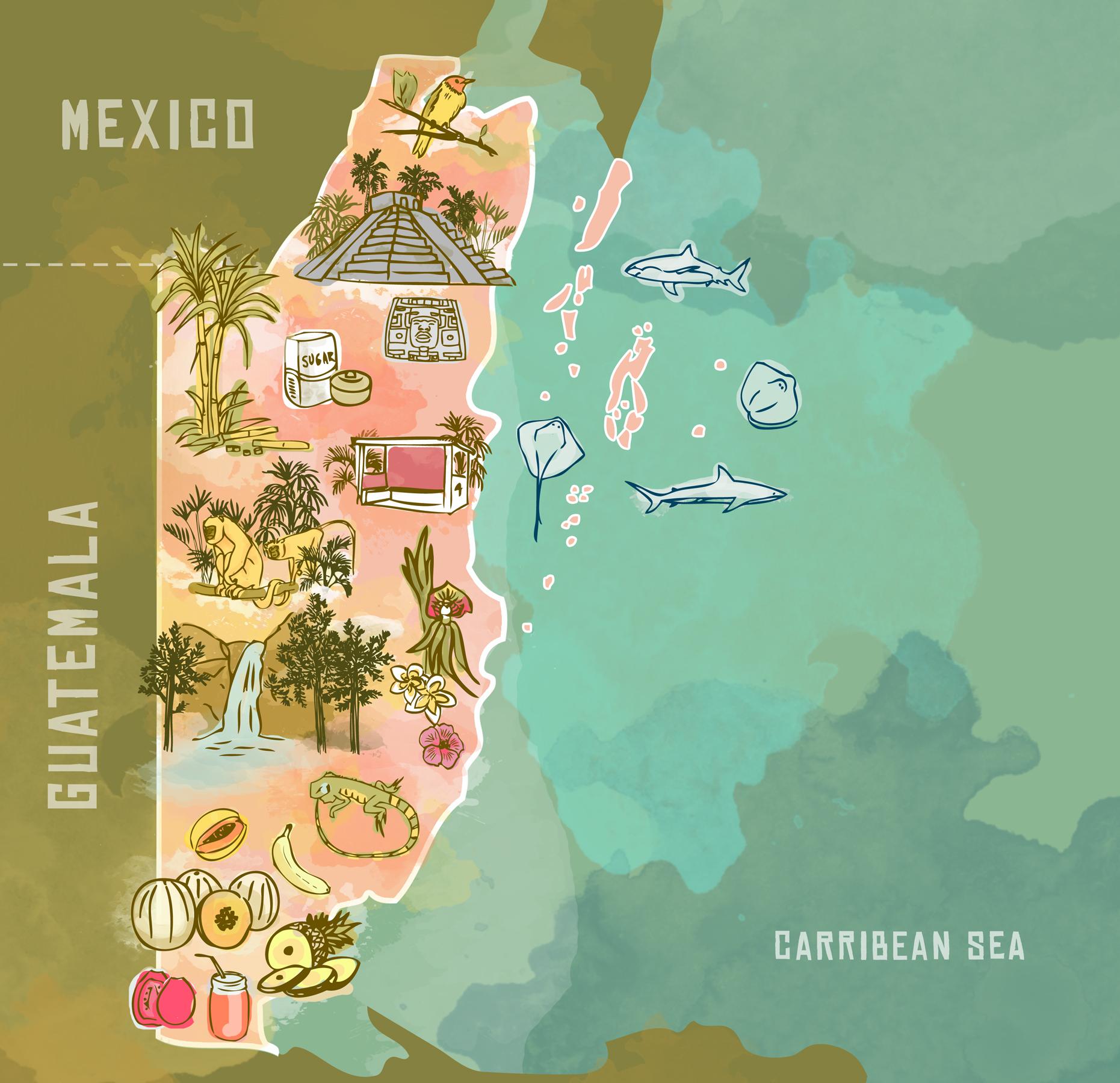 Map created by  Sara Darouian