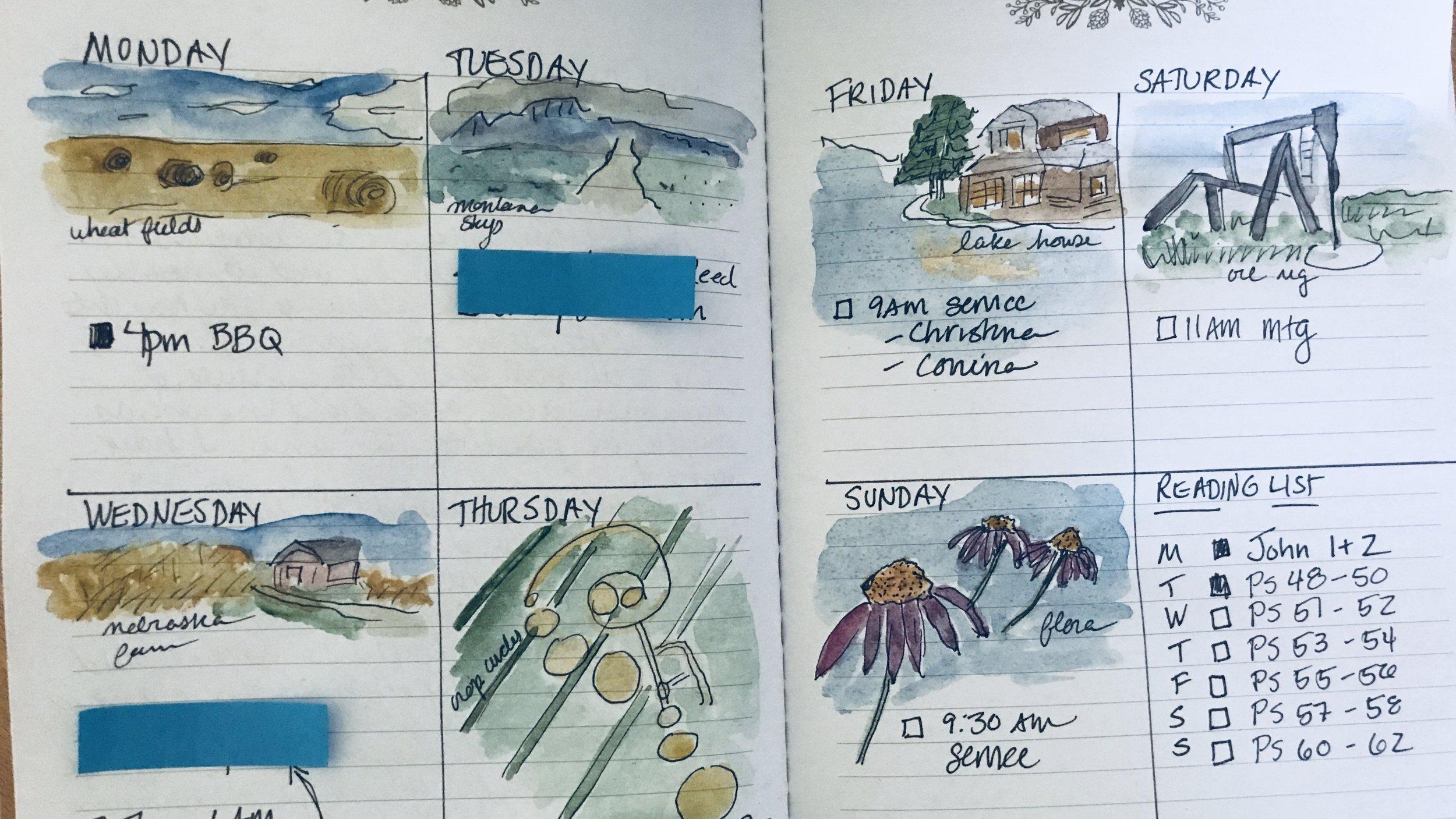 Tanya's Bullet Journal