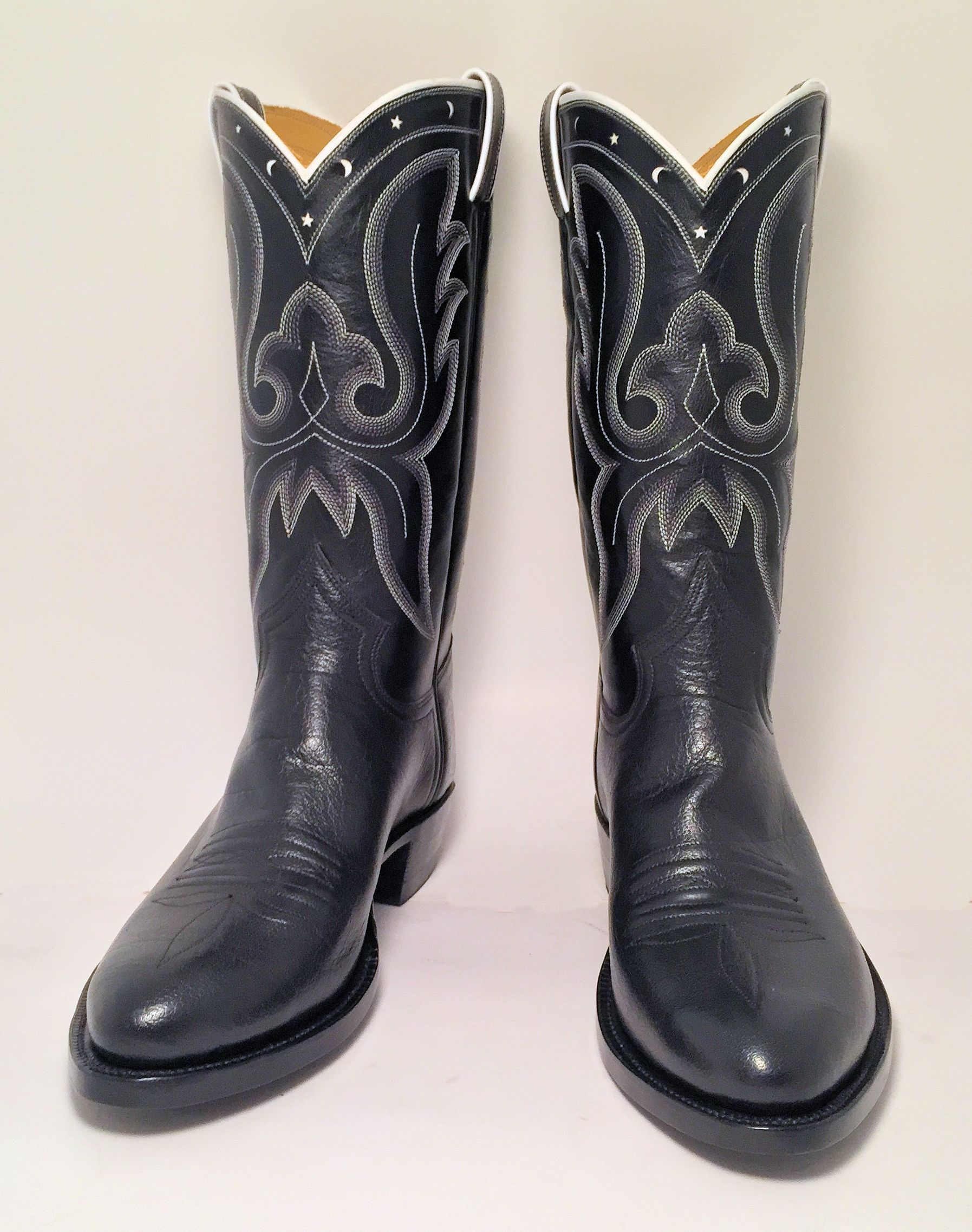 Music City Leather Cowboy Boot
