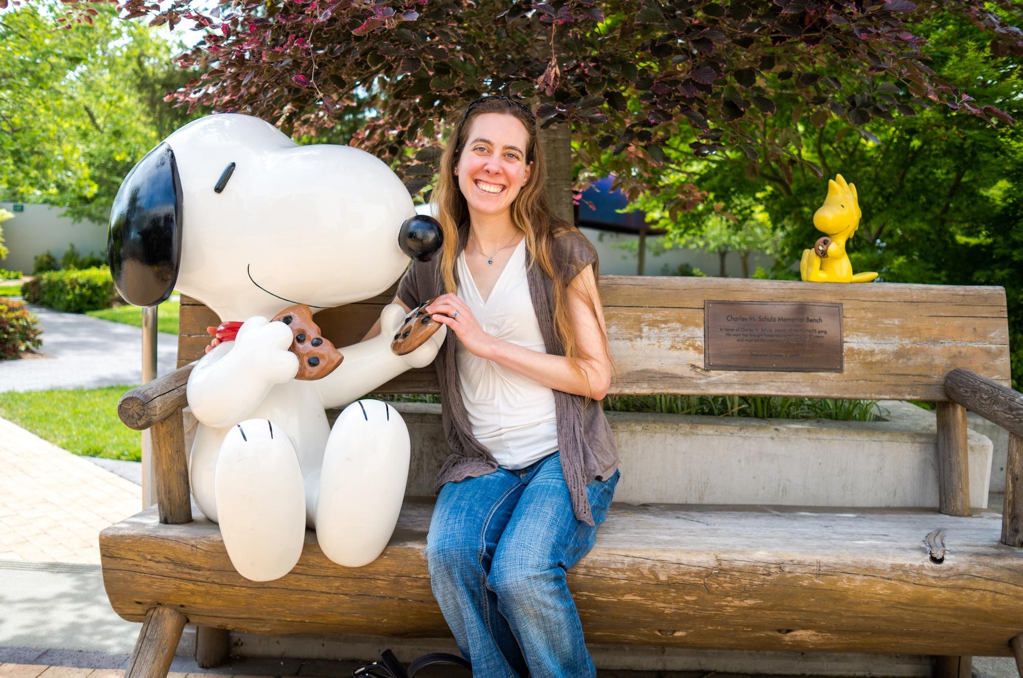 Kelley, Snoopy, & Woodstock