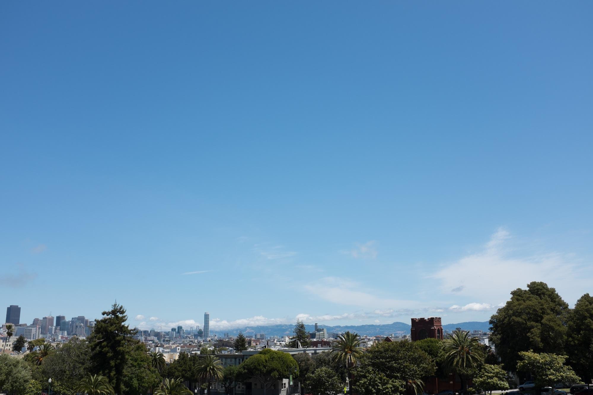 Fuji X100S - Distorted SF Skyline