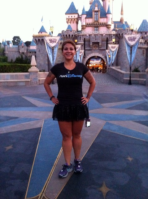T he happiest I've ever been at Disneyland. Loving every second! Thank you runDisney!