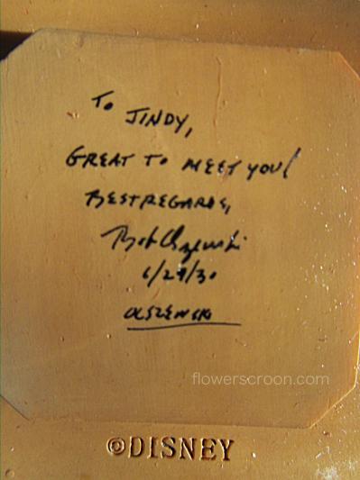 Inscription on my tiki hut lid