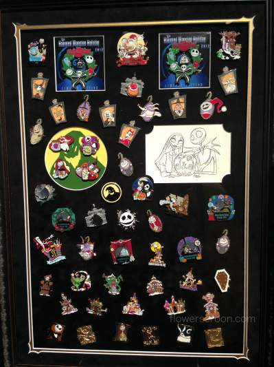 NBC pins at the auction