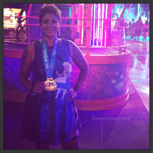 After running the Inaugural Disneyland 10K, I headed to the Mad T Party for a cocktail.