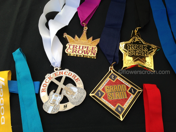 Bonus Rock n Roll Marathon Medals - I registered for a race while I was there
