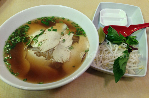 Chicken Phở from my favorite local Vietnamese restaurant: Simmering Ph ở  Cafe
