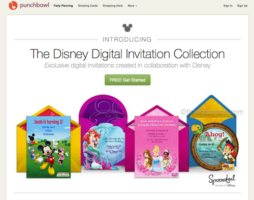 Disney Digital Invitation Collection gallery