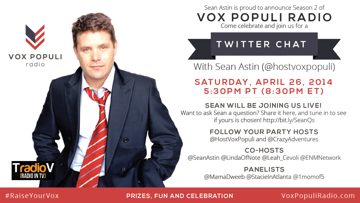 Click this image to RSVP to Sean's Chat