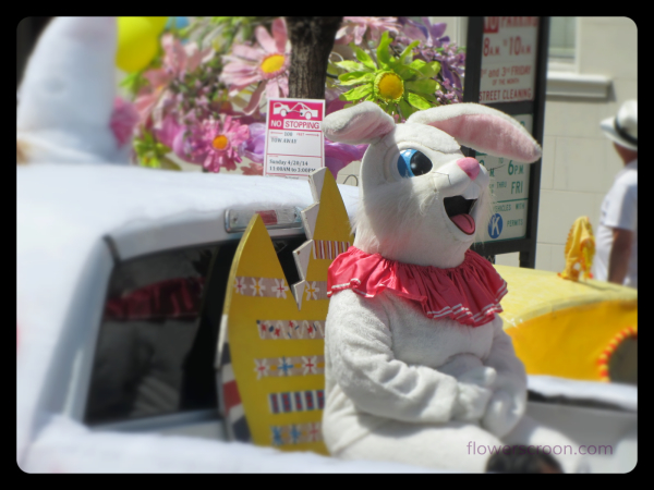 Easter Bunny is ready to roll