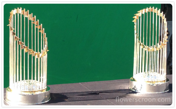 SF Giants World Series Trophies