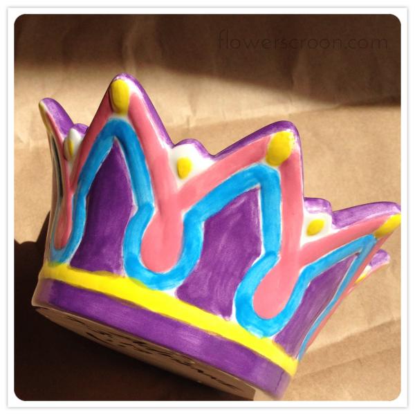 Crown jewelry box