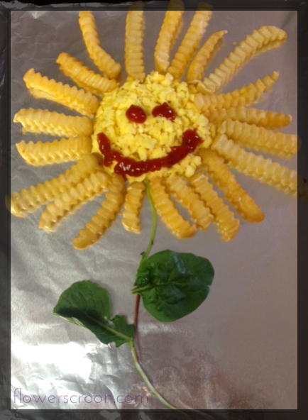 French Fry Sunflower