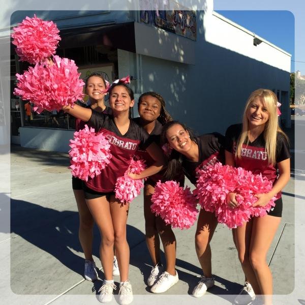 Ann Sobrato High School Cheer Team