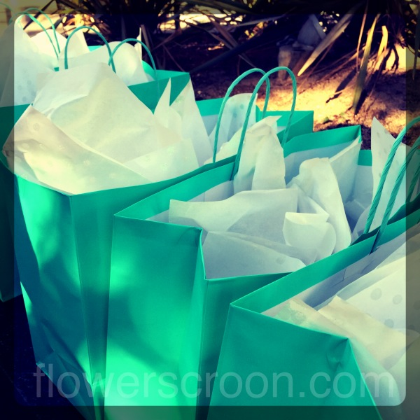 Our gift bags