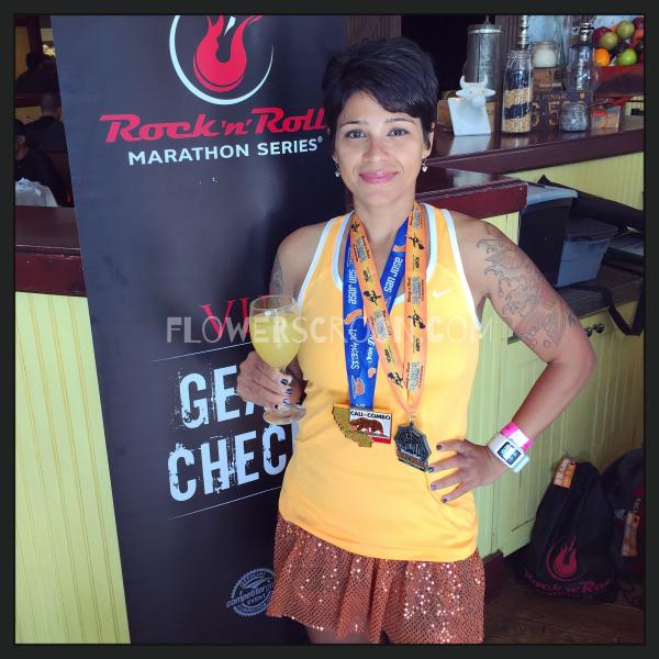 Rock 'n' Roll Los Angeles Halloween Half Marathon vip mimosa.jpg