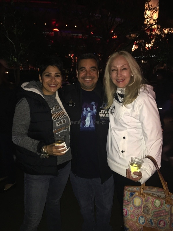 Me, Marc, Didi - all smiles!